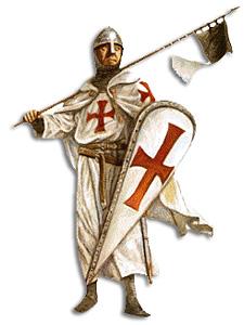 Ordre des Templiers : Chevalier Templier.
